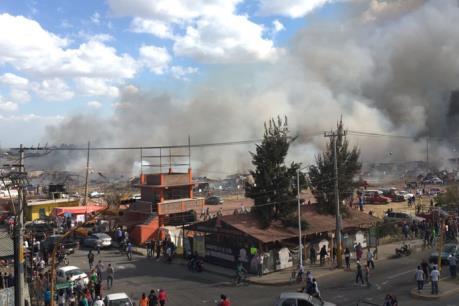 Mexico: Nổ chợ pháo hoa, hơn 80 người thương vong