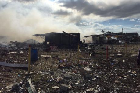 Tin mới nhất về số người thương vong trong vụ nổ chợ pháo hoa tại Mexico