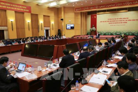 Tổ công tác của Thủ tướng Chính phủ kiểm tra tại Bộ Tài nguyên và Môi trường