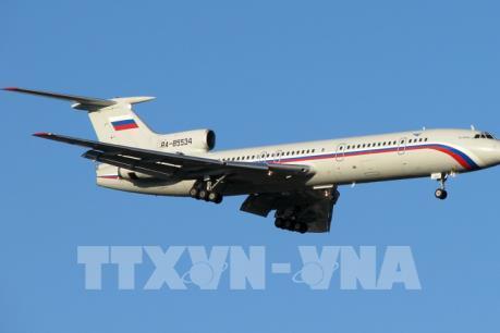 Vụ tai nạn máy bay quân sự Nga: Nga dừng toàn bộ các chuyến bay của dòng máy bay Tu-154