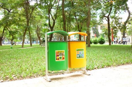 Tp. Hồ Chí Minh: Hỗ trợ 1.200 thùng rác công cộng cho các địa phương