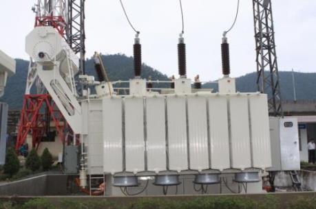 Đóng điện công trình Nâng công suất Trạm biến áp 220kV Hòa Khánh