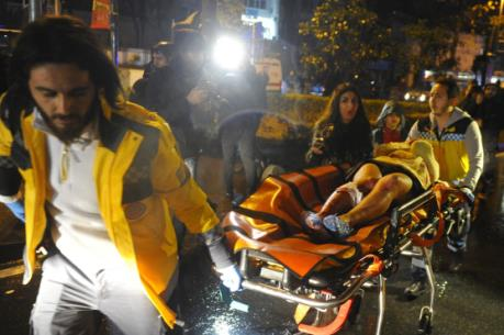 Vụ tấn công hộp đêm Thổ Nhĩ Kỳ: Ít nhất 35 người thiệt mạng