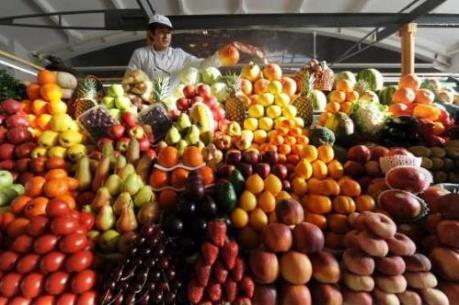Thị trường rau củ, trái cây nhiều biến động