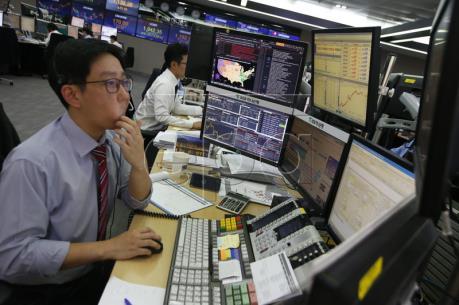 Thị trường chứng khoán châu Á tăng điểm phiên 3/1