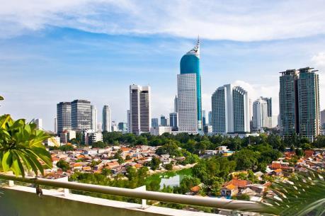 Thủ đô Jakarta của Indonesia đang chìm dần