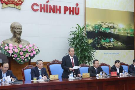 Phó Thủ tướng Trương Hòa Bình: Xử lý nghiêm minh cán bộ thừa hành công vụ vòi vĩnh