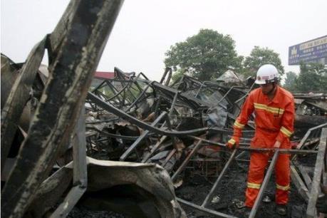 Viện dưỡng lão cháy lớn, ít nhất 7 người thiệt mạng