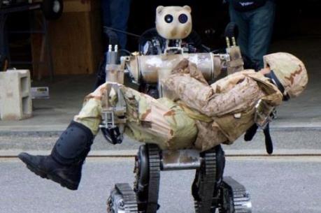 Nga chế tạo robot sơ tán người trong trường hợp khẩn cấp