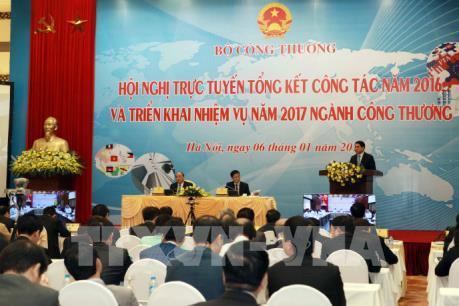 Bộ Công Thương đề ra 4 mục tiêu thực hiện năm 2017