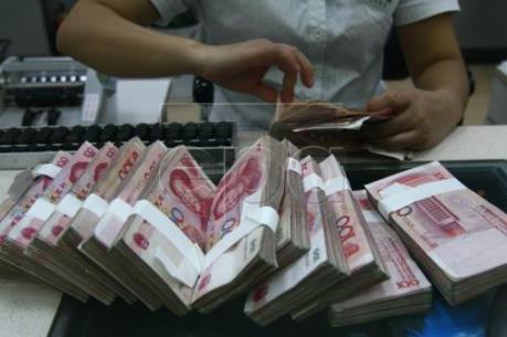 Trung Quốc: Tỷ giá đồng Nhân dân tệ tiếp tục giảm