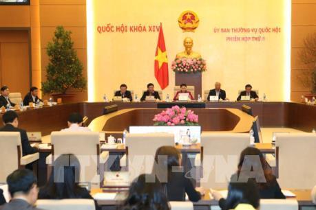 Ủy ban Thường vụ Quốc hội sẽ họp 10 phiên trong năm 2017