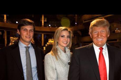 D.Trump chọn con rể làm Cố vấn cấp cao Nhà Trắng