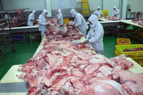 Cảnh báo nguồn cung thịt lợn đang vượt cầu