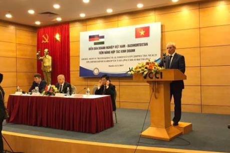 Tăng cường hợp tác thương mại Việt Nam – Bashkortostan (Liên bang Nga)