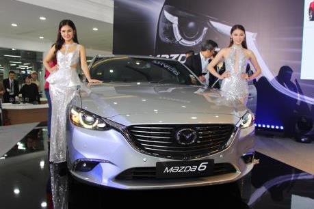 Trường Hải ra mắt sedan Mazda6 nhiều nâng cấp, giá từ 975 triệu đồng