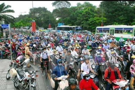 """37 điểm """"đen"""" ùn tắc giao thông tại Tp. Hồ Chí Minh"""
