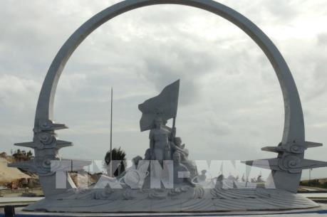 Sắp hoàn thành tượng đài tưởng niệm chiến sỹ Gạc Ma