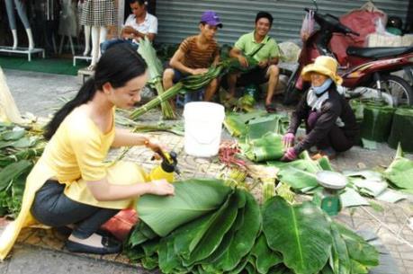 """Độc đáo """"chợ phiên"""" mùa Tết tại Tp. Hồ Chí Minh"""