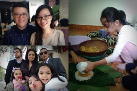 Tết cổ truyền ở gia đình đa văn hóa