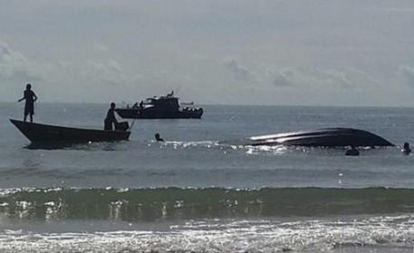 Lật thuyền tại Malaysia làm nhiều người thiệt mạng