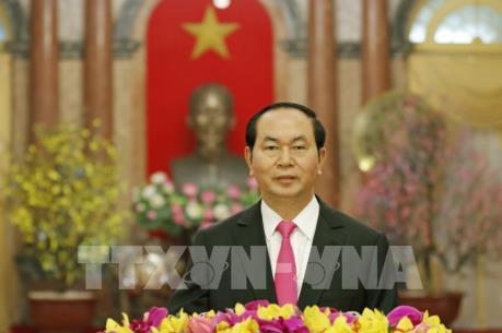 Thư chúc Tết - Xuân Đinh Dậu 2017 của Chủ tịch nước Trần Đại Quang