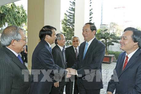 """Chủ tịch nước Trần Đại Quang: Ngành Giáo dục tập trung đào tạo những """"công dân toàn cầu"""""""