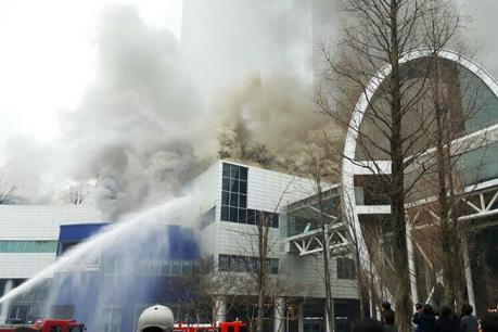 Hỏa hoạn tại khu mua sắm ở Hàn Quốc, 4 người thiệt mạng