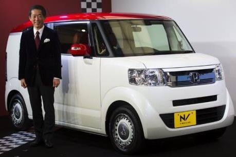 N-Box của Honda - mẫu xe ô tô bán chạy nhất tại Nhật Bản