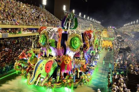 Brazil có thể thu về 1,8 tỷ USD từ lễ hội Carnival 2017