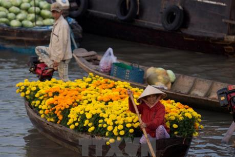 Chợ nổi Cái Răng sẽ trở thành điểm du lịch quốc gia