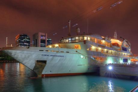 Bình Định đón đoàn khách quốc tế bằng đường biển đầu năm mới