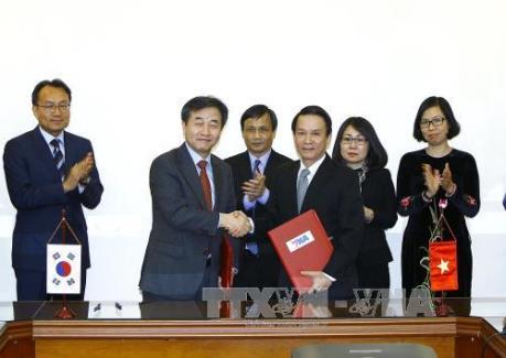 Tăng cường hợp tác, chia sẻ thông tin giữa TTXVN và Hãng thông tấn Yonhap của Hàn Quốc