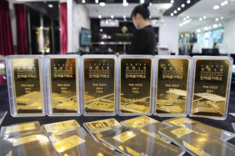 Giá vàng giảm phiên thứ 5 trên thị trường châu Á
