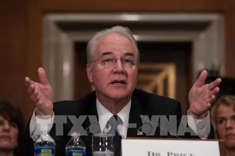 Thượng viện Mỹ phê chuẩn ông Tom Price làm Bộ trưởng Y tế và Dịch vụ con người