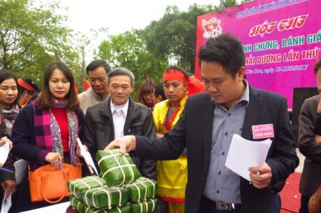 Lễ hội mùa xuân Côn Sơn-Kiếp Bạc: Đặc sắc hội thi bánh chưng, bánh dày