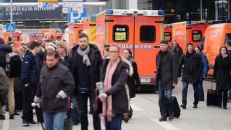 Đức bác thông tin tấn công khủng bố tại sân bay Hamburg