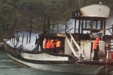 Quảng Ninh tạm dừng hoạt động đội tàu của Công ty TNHH Du thuyền Bhaya Legend