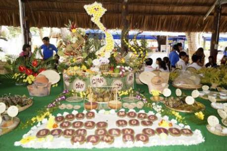 Du lịch Việt Nam: Nhiều nét mới trong Lễ hội Bánh dân gian Nam bộ lần thứ 6