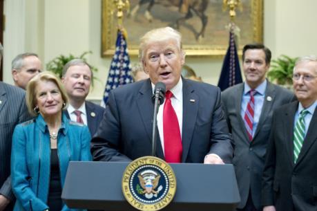 Tổng thống Mỹ D.Trump khẳng định bộ máy nội các hoạt động suôn sẻ