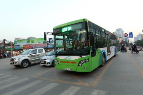 Thử nghiệm thẻ vé xe buýt điện tử trên buýt nhanh BRT