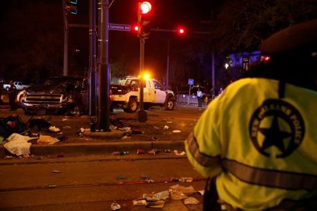 Mỹ: Xe tải đâm vào đám đông, hàng chục người bị thương