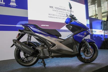 Yamaha Việt Nam tiếp tục tung mẫu xe tay ga NVX 125cc ra thị trường