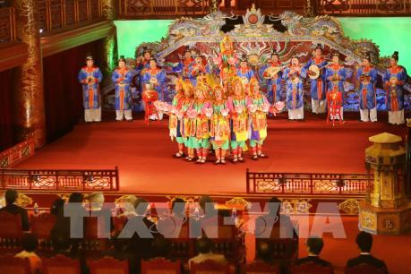 Gặp các nghệ sĩ từng 2 lần biểu diễn Nhã nhạc Huế phục vụ Nhà vua và Hoàng hậu Nhật Bản