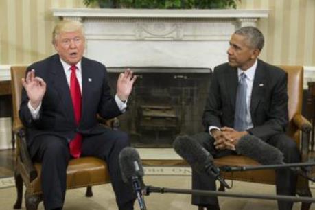 """Tổng thống D.Trump cáo buộc ông Barack Obama """"nghe trộm"""" điện thoại"""