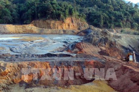 Sự cố tại mỏ thiếc Suối Bắc đã được khống chế