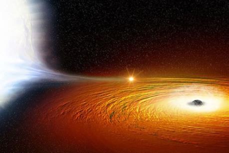 Phát hiện một ngôi sao có quỹ đạo quay gần hố đen vũ trụ