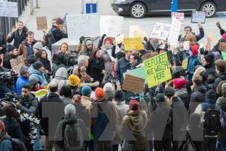 Chính quyền Tổng thống Mỹ Donald Trump kháng cáo phán quyết chặn sắc lệnh nhập cư mới