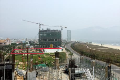 Kết luận chính thức về công trình Tổ hợp Central Coast xây dựng không phép