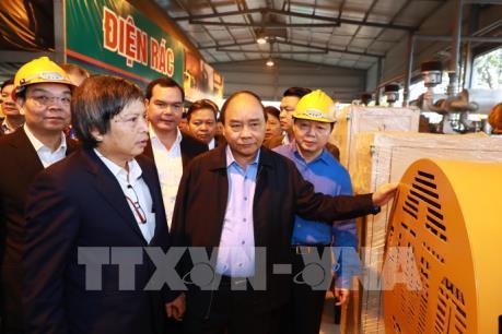 """Thủ tướng Nguyễn Xuân Phúc khảo sát công nghệ điện - rác """"made in Việt Nam"""""""